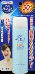 Rohto Skin Aqua SaraFit Sun Spray UV SPF 50+ PA++