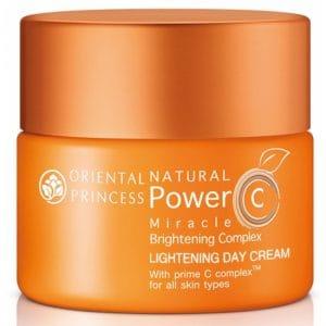 ORIENTAL PRINCESS ครีมบำรุงผิวหน้า Natural Power C Miracle Brightening Complex Lightening Day Cream