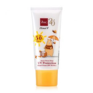 HONEI V BSC SWEET HONEI BEAR UV PROTECTION FACIAL CREAM SPF 50+ PA++
