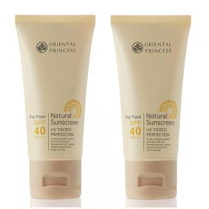 ORIENTAL PRINCESS Natural Sunscreen UV Tinted Perfection SPF40 PA+++