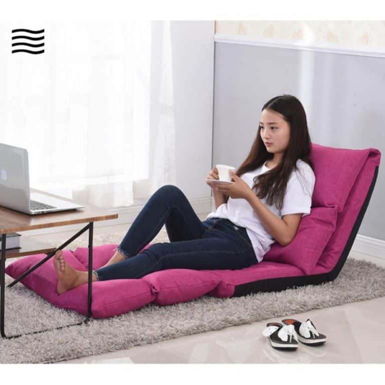 แนะนำเก้าอี้ญี่ปุ่นนั่งพื้น สำหรับเอนหลังพักผ่อนปรับได้