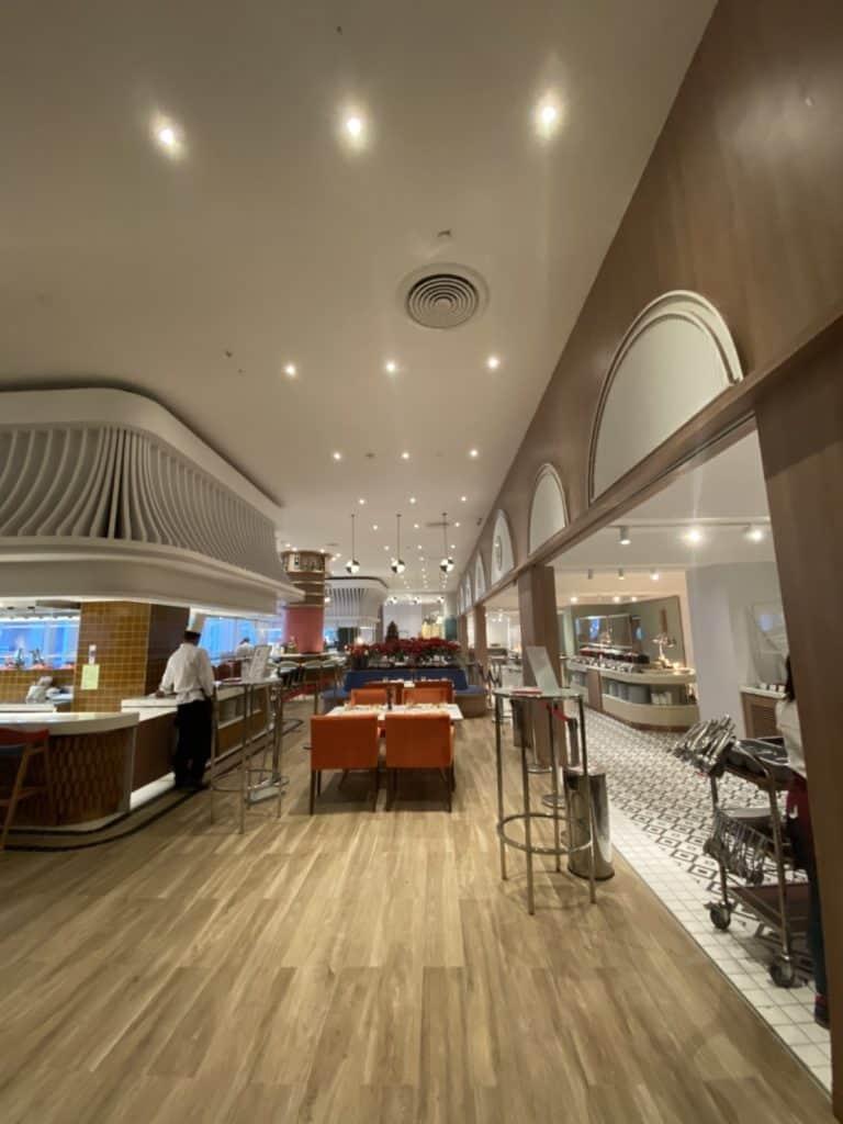 รีวิวบุฟเฟ่ต์ ของห้องอาหาร Ventisi โรงแรม Centara Grand CentralWorld